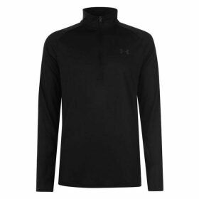 Under Armour Technical Half Zip Top Mens - Black