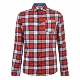 Jack and Jones Nico Checked Shirt - Red