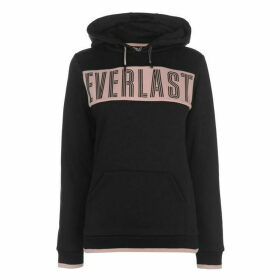 Everlast Long Line OTH Hoodie Ladies - Black