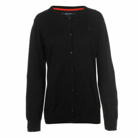 Kangol Cotton Cardigan Ladies - Black