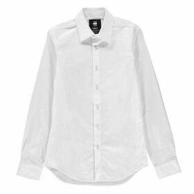 G Star Core Long Sleeve Shirt - white