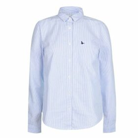 Jack Wills Homefore Stripe Classic Shirt - Sky Blue
