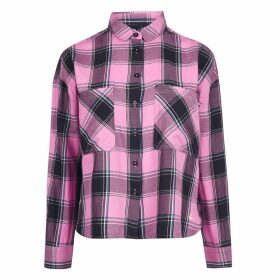 Jack Wills Gower Boxy Shirt - Pale Pink