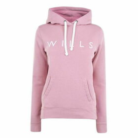 Jack Wills Hunston Wills Classic Hoodie - Pale Lilac