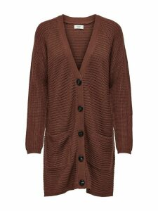 Women's JDY ladies button front longline cardigan