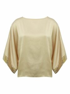 Women's Ladies sequin kimono party top