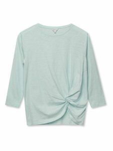 Women's Sonder Studio ladies knot front top