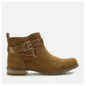Barbour Women's Jane Suede Ankle Boots - Cognac - UK 8