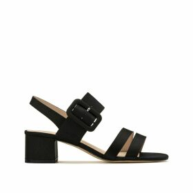 Multi-Strap Buckled Sandals