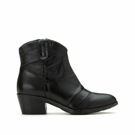 Dallas-Dally Leather Cowboy Boots