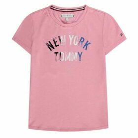 Tommy Hilfiger Glitter Logo T Shirt
