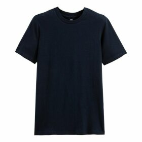 Cotton Short-Sleeved Crew-Neck T-Shirt