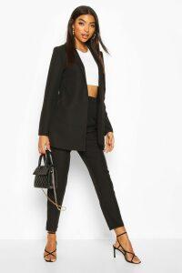 Womens Tall Edge To Edge Woven Blazer - Black - 16, Black