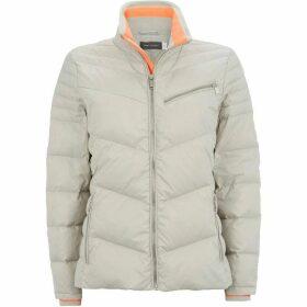 Mint Velvet Dove Zip Detail Padded Jacket