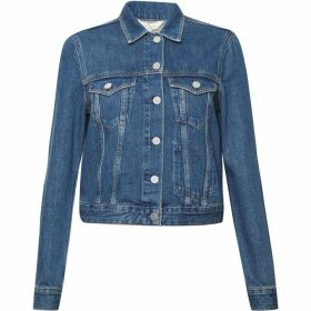 French Connection Micro Western Denim Jacket