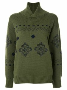 Christian Dior pre-owned Long Sleeve Knit Tops - Green