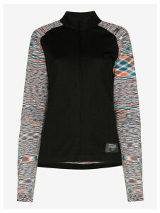adidas x Missoni zip-up sweater - Black