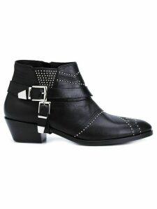 ANINE BING 'Bianca' boots - Blue