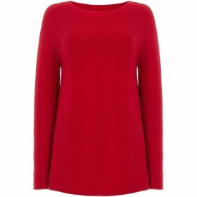 Oui Rib detail knit jumper