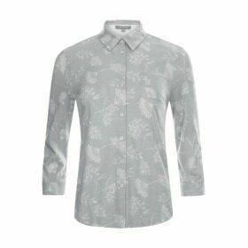 Cowparsley Print Jersey Shirt