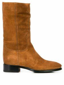 Santoni mid-calf boots - Brown