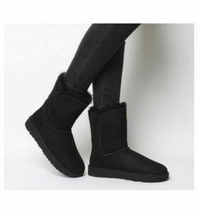 UGG Classic Cuff Short BLACK