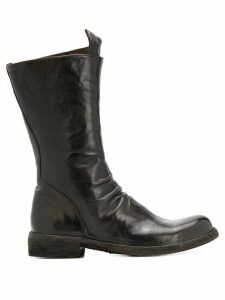 Officine Creative Legrand 09 slouch boots - Brown