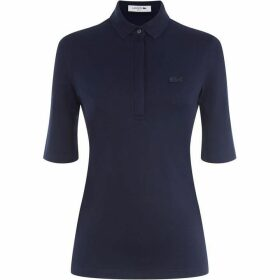 Lacoste Women`S Lacoste Slim Fit Stretch Mini Piqué Polo