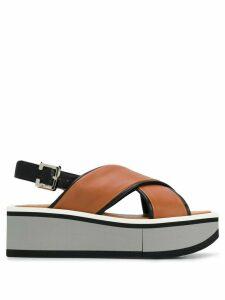 Clergerie Unie sandals - Brown