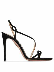 Aquazzura Serpentine 105mm sandals - Black