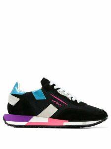 Ghoud colour block sneakers - Black