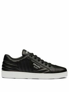 Prada quilted low-top sneakers - Black