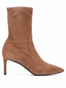 Stuart Weitzman stiletto ankle boots - Brown