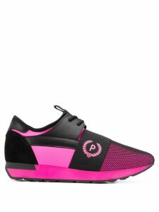 Pollini paneled sneakers - PINK