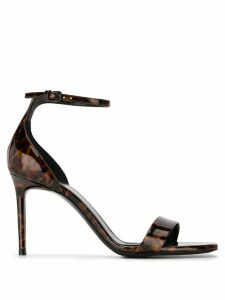 Saint Laurent Jane 105mm sandals - Black