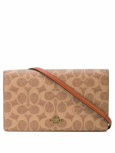 Coach Hayden foldover crossbody clutch - Brown
