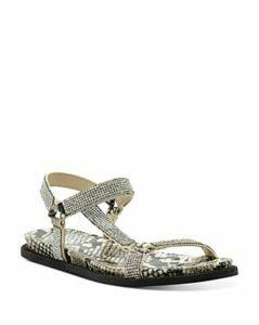 Vince Camuto Women's Arabelem Crystal-Embellished Flat Sandals