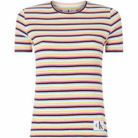 Calvin Klein Jeans Striped Rib T-Shirt