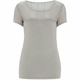 Nougat Daisy Lace T-Shirt