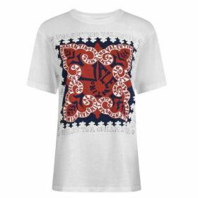 Valentino Bandanna Logo T Shirt