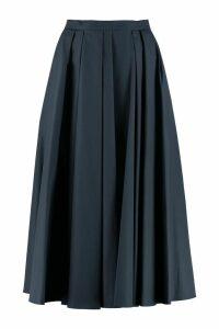 S Max Mara Negelia Poplin Skirt