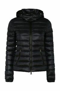 Moncler Bleu Hooded Down Jacket