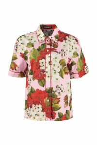 Dolce & Gabbana Silk-cotton Blend Shirt