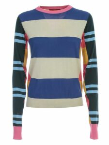 Colville Sweater L/s Crew Neck Multi Stripes