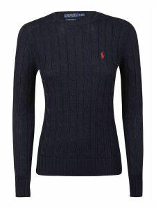 Polo Ralph Lauren Logo Embroider Knitted Sweatshirt