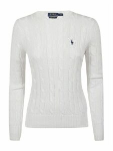 Polo Ralph Lauren Logo Embroider Knitted Sweatshirt
