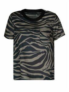 Sacai All-over Printed T-shirt