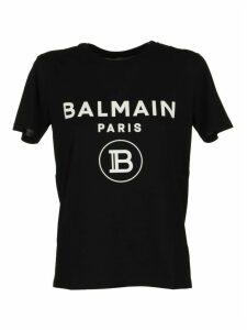 Balmain T-shirt Black/white