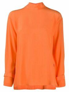 Jejia Silk Long Sleeve Blouse