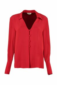 Fendi Crepe De Chine Blouse
